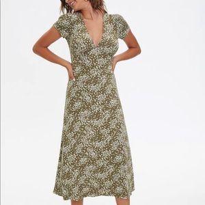 Brand new with tags floral midi dress